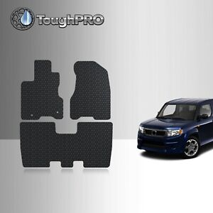 Toughpro Floor Mats Black For Honda Element Sc All Weather Custom Fit 2007 2011