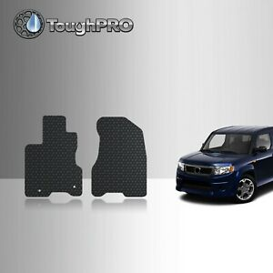 Toughpro Front Mats Black For Honda Element Sc All Weather Custom Fit 2007 2010