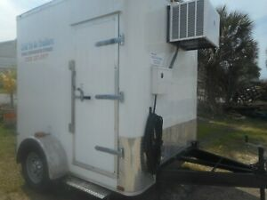 Refrigerated Walk In Cooler freezer Trailers Custom 2020 No Waiting Ready P up