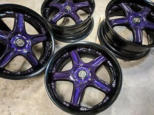 18 Volk Gt C 5x114 3 Wheels Jdm 2 Piece