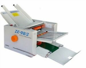 1pc 210 420mm Paper Auto Folding Machine 2 Folding Plates New Ze 9b 2 Un