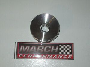 March Performance 725 Polished Idler Pulley Chevy gmc Truck 85 93 Ford Mustang
