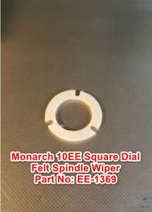 Monarch 10ee Square Dial Metal Lathe Part Ee 1369 Felt Tailstock Spindle Wiper