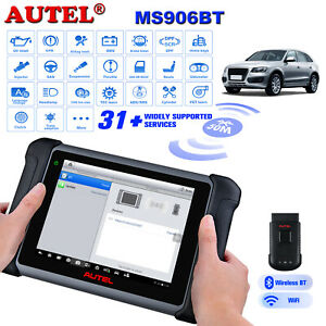 2020 Autel Maxisys Ms906bt Auto Diagnostic Tool Obd2 Scanner Upgrade Ds808 Ms906