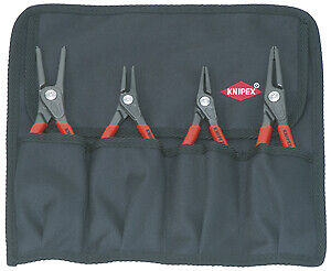 4 Piece Circlip Pliers Set Knipex Tools Lp 1957
