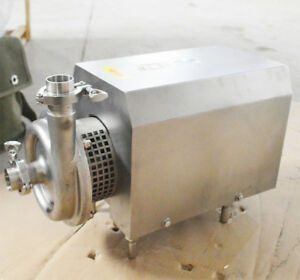 Food Grade Centrifugal Pump Sanitary Pump 2 9hp 10t h Flow Commercial Pumps New