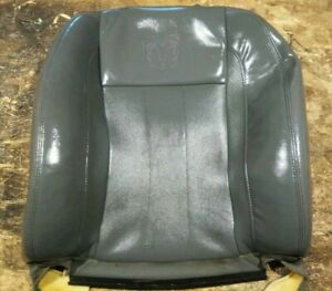 2002 2006 Dodge Ram Leather Passenger Back Rest Lumbar Seat Backrest Cover Skin
