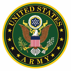 United States Army US Seal American Sticker Bumper Decal #RS13 $2.99