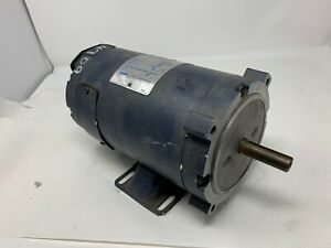 1 2 Hp 1800 Rpm 56c Frame 24 Volts Dc Tenv Leeson Electric Motor 108051