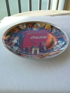 1995 The Eras of Coca Cola 1940-1950 Numbered Edition Collectors Plate #1351