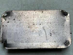 Original Ih Farmall 400 Mccormick Tractor Nameplate 4 X 2 1 4 Parts Only