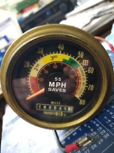 Vintage Speedometer Tachometer Hot Rat Rod 1932 Model A Ford Dixson 60 70s Dixco