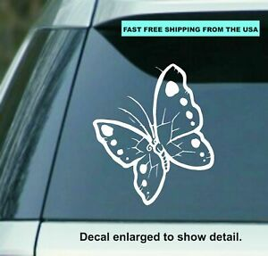 Butterfly 6 5 Vinyl Decal Sticker Perfect For Car Laptop Window Wall Yeti Cup