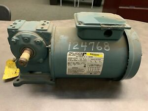 Reliance Electric Ac Motor P56h3883r Je Ph 3 3 4 Hp 1725 Rpm New Old Stock