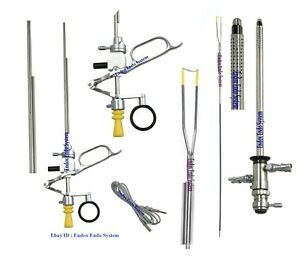 Cystoscopy Turp Set 26fr Resectoscope Monopolar Active Working Element Loop 4pc