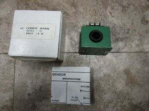 Model 10 Ac Current Sensor 10 Amp 0 10 Vdc