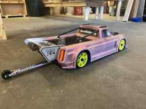Arrma Infraction Pro Mod Style Rear Wing Aluminum Made In Usa