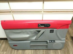1998 2010 Vw Beetle Door Panel Left Driver Side Red Gray Oem