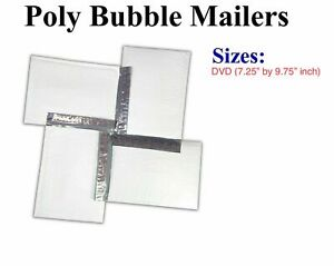 Lot 10x To 100x Poly Bubble Mailers Padded Envelope Bags 7 25 By 9 75 Inch
