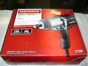 Craftsman 1 2 Inch Impact Wrench 7 5 Amp 18423