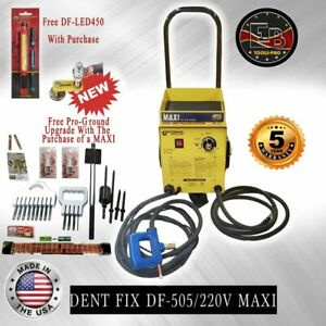 Dent Fix Equipment Df 505 Maxi 220 Volt Dent Pulling System Made In The Usa