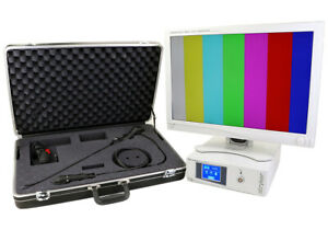 Stryker Cst 5000is Diagnostic Video Cystoscope Kit With Monitor