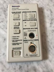 Tektronix Current Probe Tcpa300 Ac dc Current Amplifier Face Plate