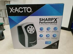 Box Of 4 X acto 1772 Sharpx Electric Pencil Sharpener Corded Black silver