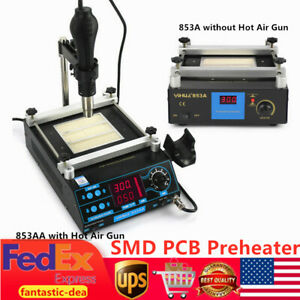 Smd Pcb Preheater Infrared Preheating Station Hot Plate Preheating Oven Welder