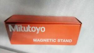 New Mitutoyo Magnetic Base 7011s 10 For Dial Indicator Gauges Fine