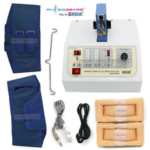 New Electronic Lumbar Cervical Traction Therapy Unit Bed Head Unit