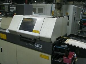Star Sr 20 Swiss Type Cnc Lathe New 1997 With Fmb Mag Loader Live Sub C Axis