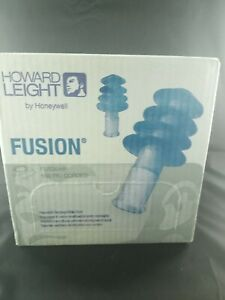 Howard Leight Fusion Fus30 hp Reusable Earplugs With Cord 100 Pairs