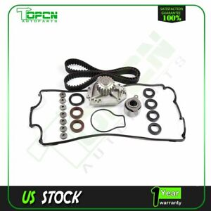 Timing Belt Water Pump Valve Cover Gasket Kit For 90 93 Acura Integra Gs Ls Rs