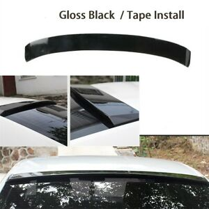 Rear Roof Spoiler Wing Lip Painted Gloss Blackfit For Vw Jetta Mk6 2011 2018