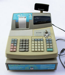 Sharp Xe a20s Electronic Cash Register