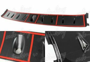 Black Rear Roof Shark Fin Style Spoiler Wing Fit 02 07 Mitsubishi Lancer Evo