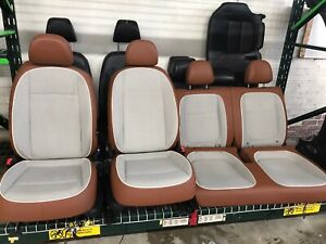 2013 2014 2015 2016 Vw Volkswagen Beetle Front Rear Cloth Leather Heated Seats