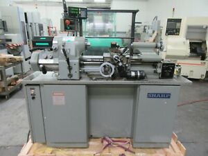 Sharp Model 1118h Hlv h Style Toolroom Lathe 11 X 18 With 2 Axis Dro For Sale