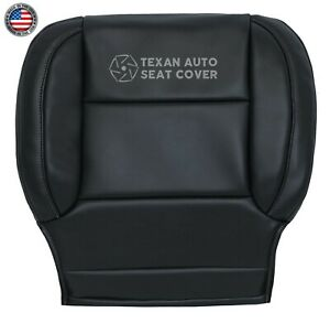 2015 Chevy Silverado 3500hd Ltz driver Bottom Synthetic Leather Seat Cover Black