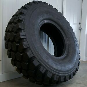 46 8 Michelin Xzl 395 85 R20 Non Plus Surplus Military Truck Tires Full Tread