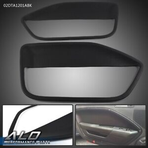 Pair Coverlay Door Panel Insert Fits For 2005 2006 2007 2008 2009 Ford Mustang