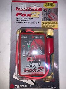 Triplett Fox 2 The Luxe Tone Generator With True Trace Brand New In Sealed Pkg