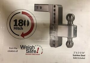 Weigh Safe Ltb10 2 5 180 Hitch 10 Drop 2 5 Receiver 2 2 5 16 Stainless