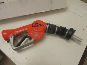 Ezflo Red Unleaded Gas Nozzle With Splash Guard Free Shipping
