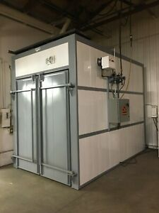 Powder Coating Rent Walk in Natural Gas Cure Oven Drying Oven Batch
