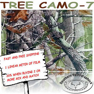 Hydrographic Water Transfer Hydrodipping Film Hydro Dip Tree Camo 7 1m