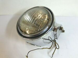 Vntg 1950 51 52 Cadillac Fog Driving Lamp Assembly Rh 1456227 Grill Guide A 50