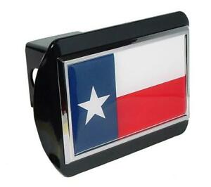 Texas Flag Black Hitch Cover Highest Quality Made In The Usa
