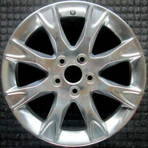 Ford Fusion Polished 17 Inch Oem Wheel 2011 To 2012